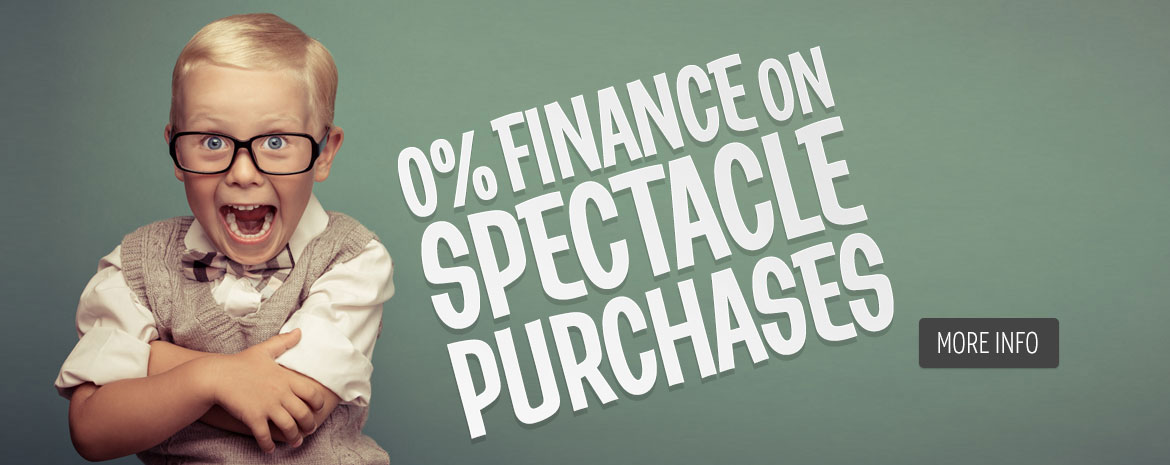 0% Finance on all Spectacles