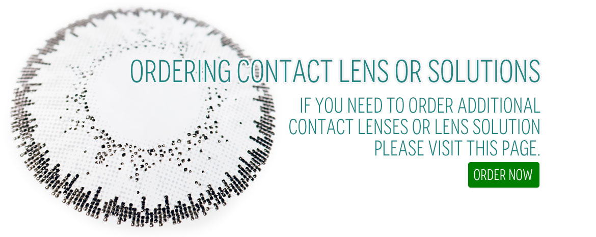 Order Contact Lenses & Solutions